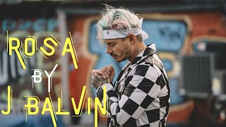 J Balvin - Rosa (Lyric Video) | [Bluemonk Release]