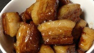 【4分で分かる角煮レシピ】煮込み30分の豚の角煮[KAKUNI]