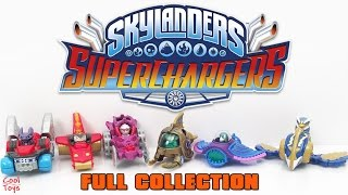 Skylanders Superchargers Full Set Happy Meal 2016 McDonalds Toys & GIVEAWAY - CoolToys