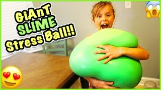 giant wubble bubble exploding stress ball can we make it pop