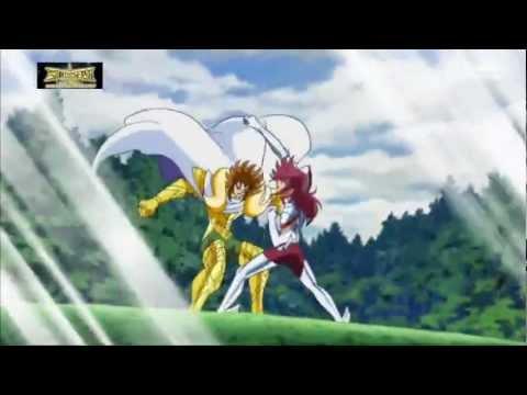 Saint Seiya Omega 29 - Kiki vs Koga