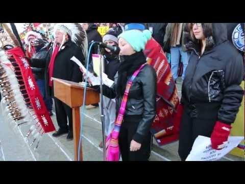 Idle No More Winnipeg December 21 2012