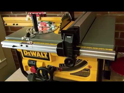Dewalt Dw745 10 Inch Compact Job Site Table Saw Customer Review