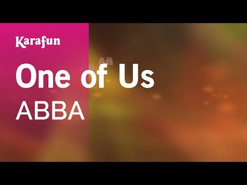 Karaoke One of Us  ABBA *