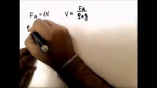 Физика. Решение задач. Закон Архимеда. Выполнялка 32