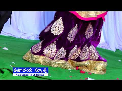 Bombat Lie movie Song Dance 20th School Day 2018||Ushodya Schools Chilamkur