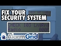 Honeywell VISTA: Check 103 LngRng Radio or bF Error
