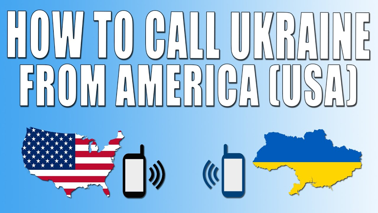 How to call to Ukraine from a landline 2