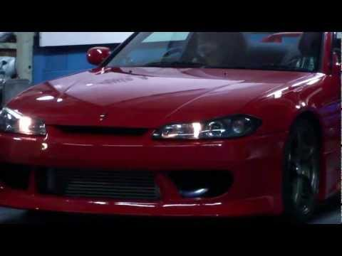NISSAN SILVIA SpecS  Engine Swap SR20DET  by Auto Action