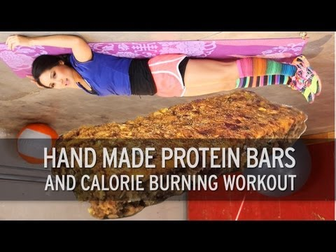 homemade-protein-bars-and-calorie-burning-workout