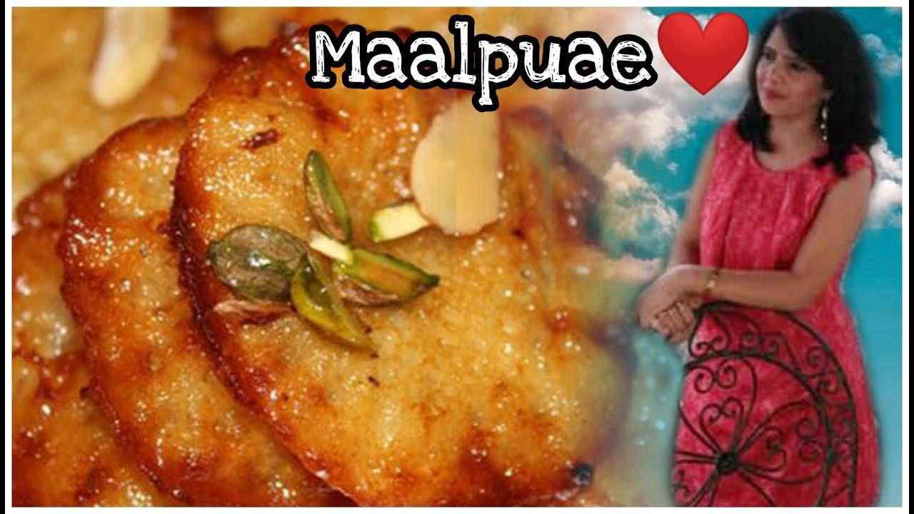 Tasty Suji Malpua recipe in Hindi