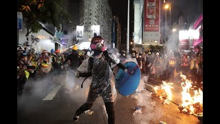 Pro-democracy protests take centre stage in Hong Kong