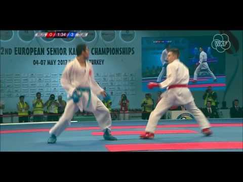 52. Avrupa Büyükler Karate Şampiyonası / 67 Kilo Finali