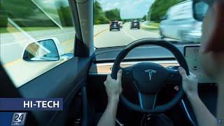 Автомобили Tesla сделали ещё умнее | Hi-Tech