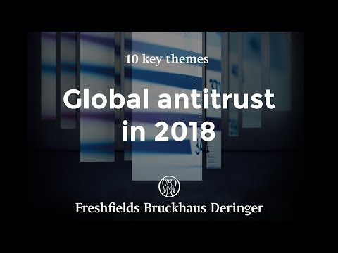 Global antitrust 2018: pricing, the internet and other restrictions