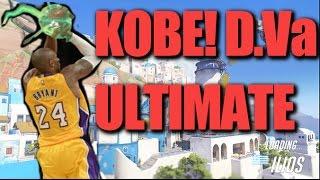 KOBE!! D.Va ULTIMATE Gameplay - Overwatch Gameplay