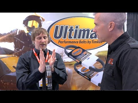 Snowmobile belt break in explained by the Engineer! Kimpex Dealer show!