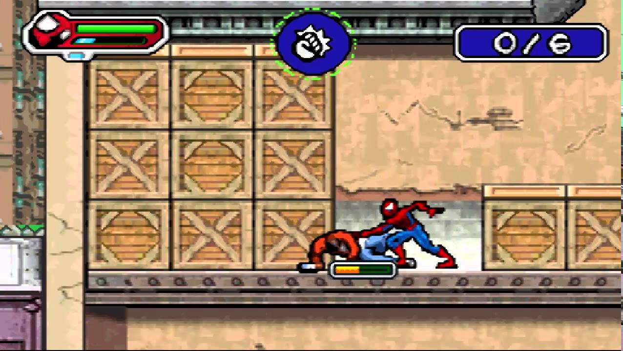 SpiderMan the Movie Game Boy Advance  YouTube
