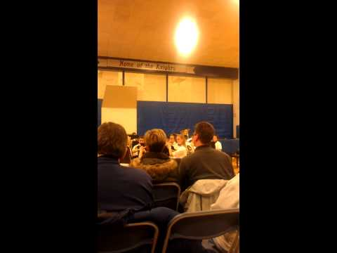 Nippersink Middle School band concert
