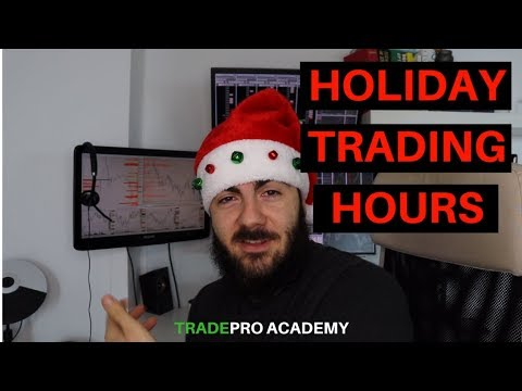 Stock Market Holiday Hours - When to Trade and When to Avoid the Stock Market - YouTube