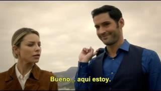 Primer beso de lucifer y chloe(Sub. Español)|Deckerstar