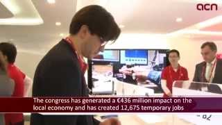 93,000 attendees to Barcelona's 2015 Mobile World Congress