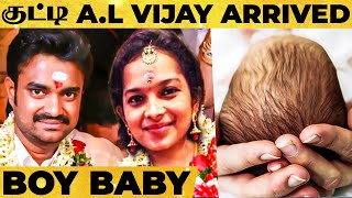 WOW! Director AL Vijay Blessed with Boy Baby!