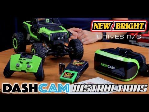 New Bright - R/C Dashcam - 1:14 Jeep Trailcat - Instructions