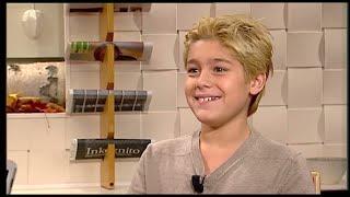 Benjamin Ingrosso i Nyhetsmorgon som 10-åring: