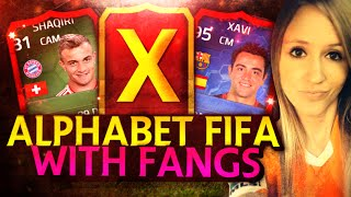 "FIFA 14 ULTIMATE TEAM | ALPHABET SQUAD BUILDER | THE ""X"" SQUAD 