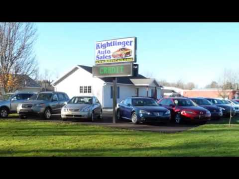 Used Cars  Erie PA  Kightlinger Auto Sales  YouTube