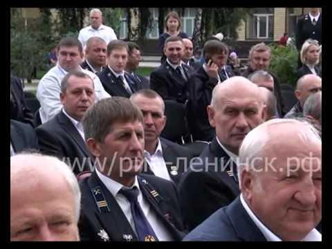 Аллея «Героев труда» торжественно открыли в Ленинске-Кузнецком