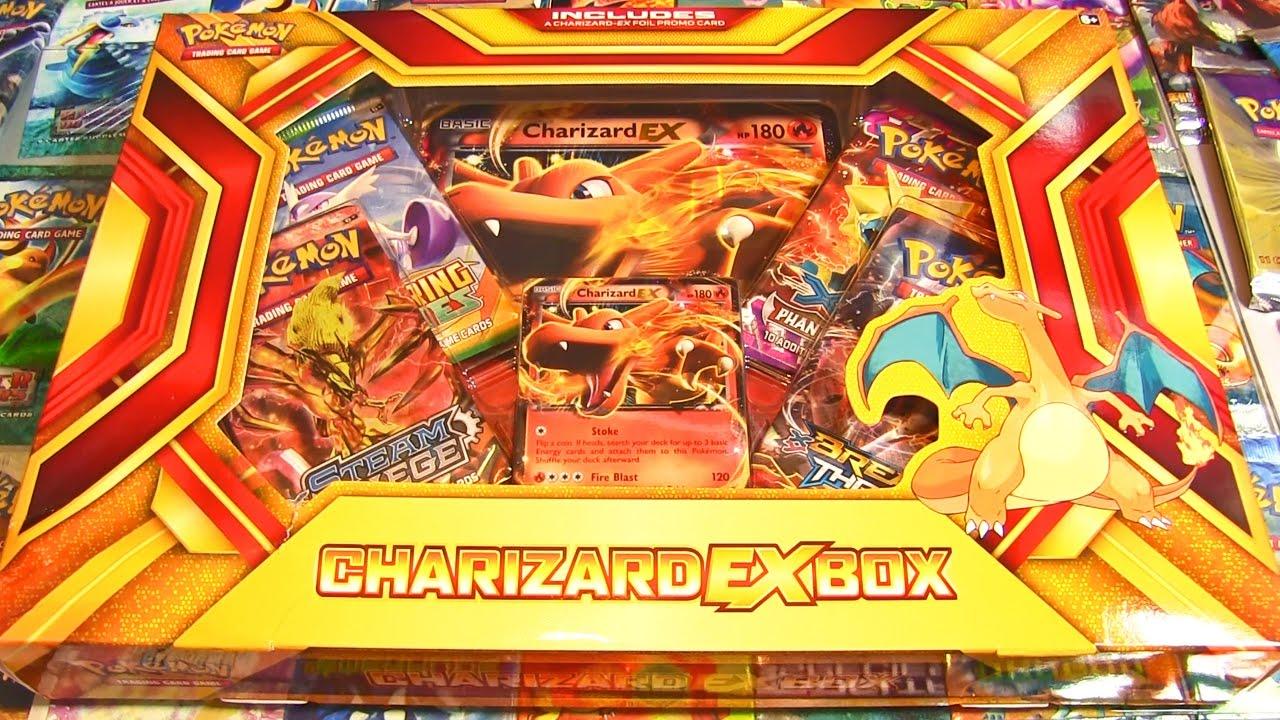 Ouverture du coffret pok mon dracaufeu ex le pok mon - Pokemon dracaufeu ex ...