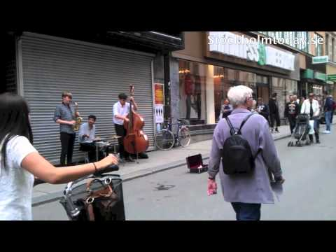 stockholm today street jazz