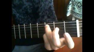 Баста-Сложно. Разбор на гитаре