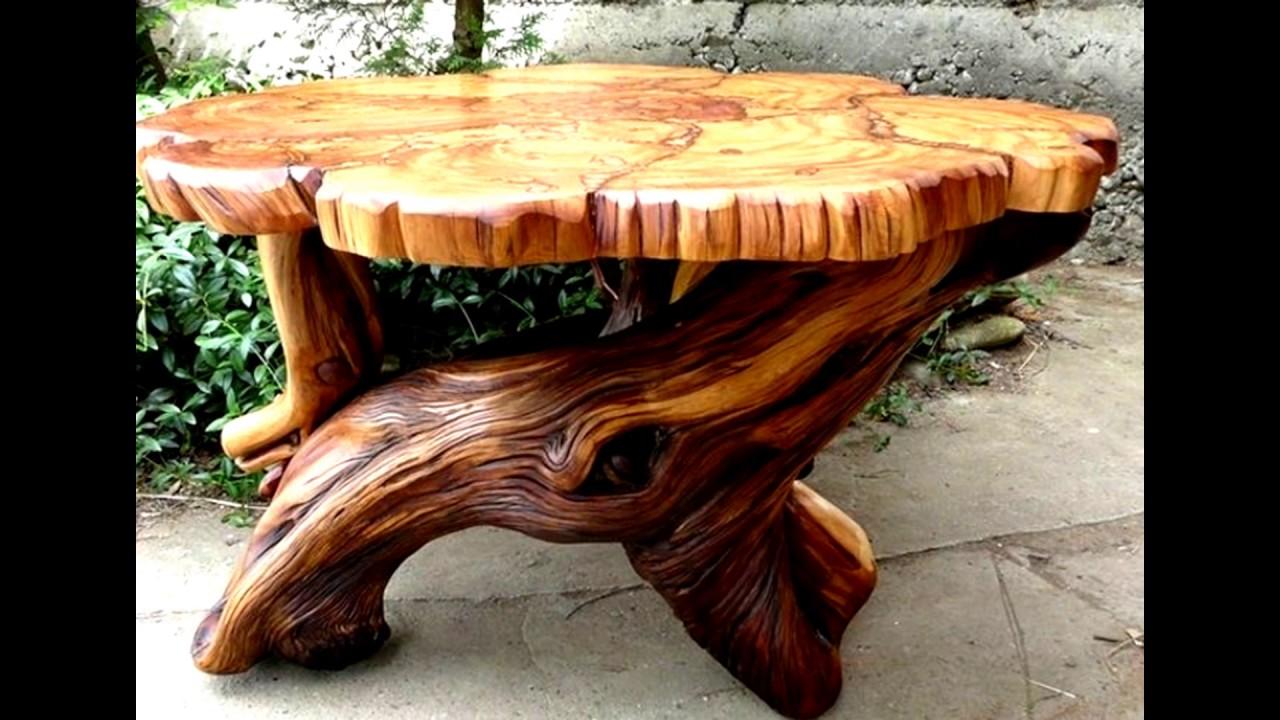 Troncos de madera incre ble lo que se puede hacer con for Escalera interior de troncos
