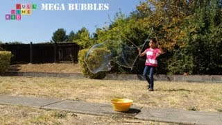 How to Make Giant Bubbles | Full-Time Kid | PBS Parents