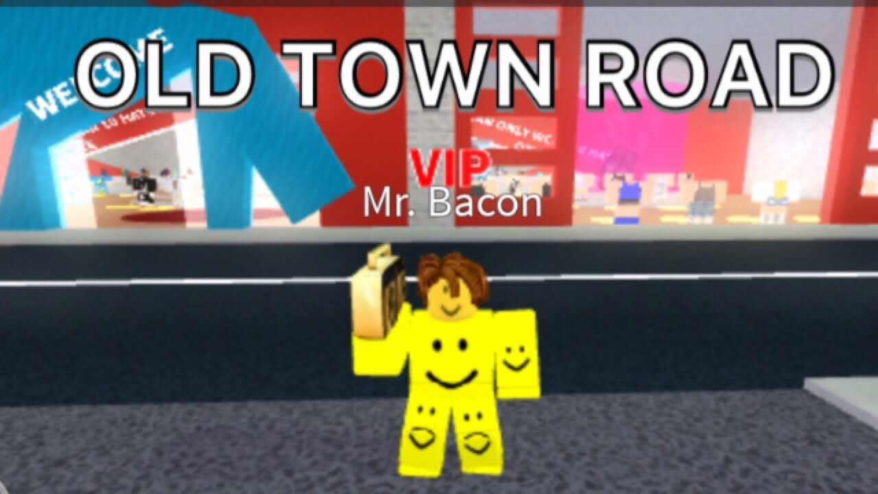 old town road song code for roblox
