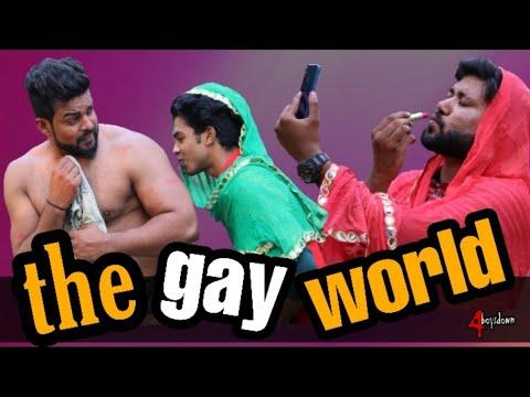 The GAY World   4boysdown 4bd   Funny Sanu Monu