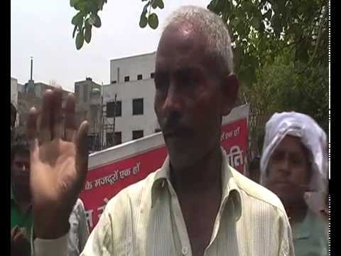 Interview with workers of Delhi steel factories who are currently on strike since 6th June.