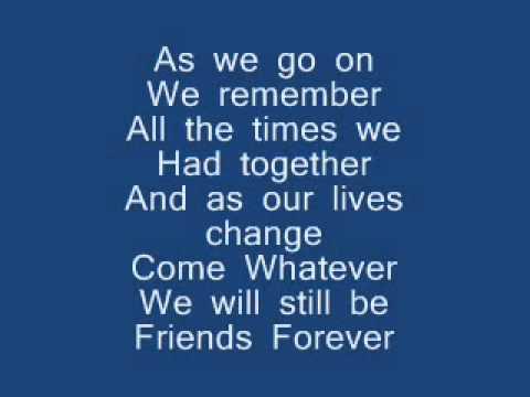 Học tiếng Anh qua bài hát - vitamin C - Graduation (Friends Forever)lyrics