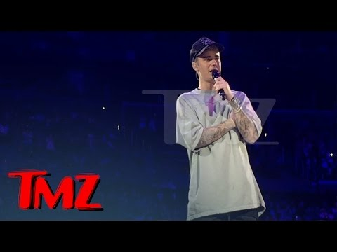 Justin Bieber Crying On Stage After Emotional Performance | TMZ