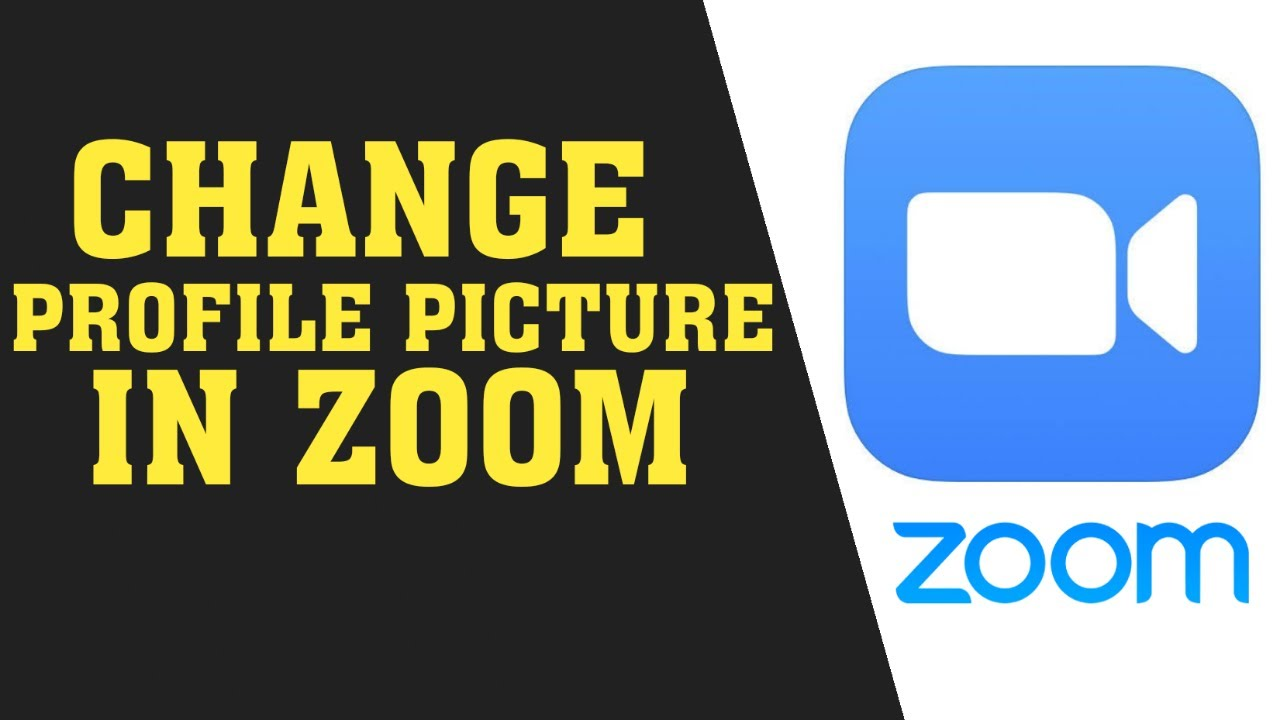 How To Change Profile Picture on Zoom || Change Zoom ...