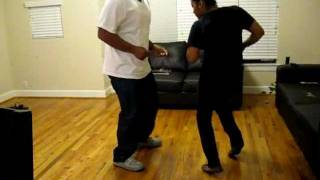 Zydeco Dancing - J Paul Jr - Arthur & Kim