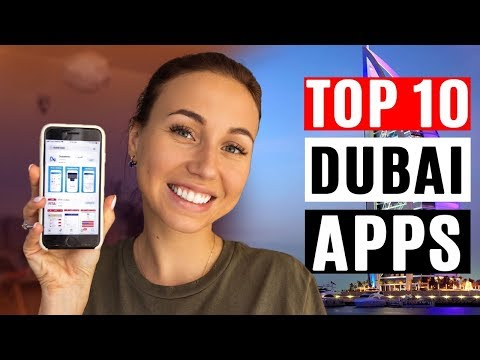 My TOP 10 apps for Dubai residents and tourists in 2018.