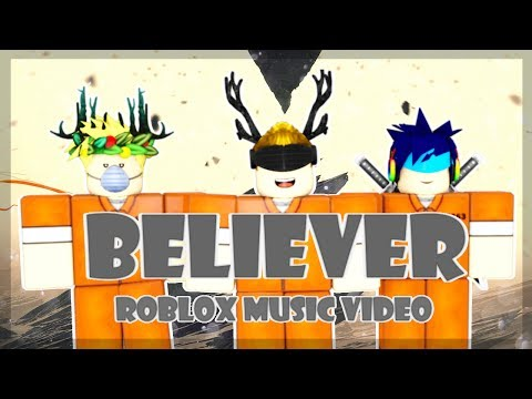 Imagine Dragons - Believer | Roblox Music Video