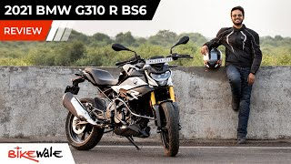 2021 BMW G310R BS6 Review | Top 5 Changes | The KTM Duke 390 Alternative | BikeWale