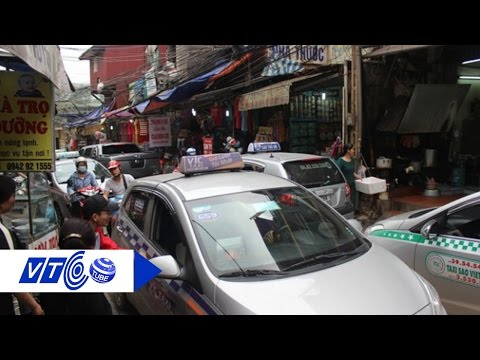 Hàng ngàn taxi ngoại tỉnh đang 'chiếm đất' Hà Nội   VTC