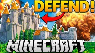 TNT CASTLE DEFENSE BRAND NEW MINECRAFT MINIGAME - Modded Minecraft Minigames | JeromeASF