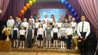"Песня""Мама,я целую твои руки""Новосибирск,школа №160 1""А""класс"
